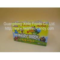 Angry Bird 11g Low Calorie Candy Bar Mix Fruit CC Chubby Stick Curvy Candy Manufactures
