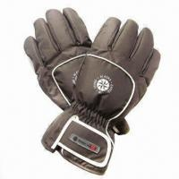China Men's Poly Ski Gloves with Hook-and-loop Strap and Surgrip Palm on sale