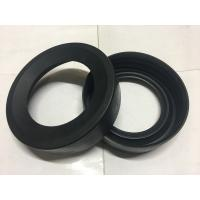 Quality Round Black Durable Toilet Fittings , Toilet Rubber Gasket 30-90 Shore Hardness for sale