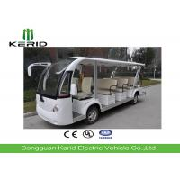 14 Seater Electric Sightseeing Bus Equipped With Effective Shock Absorb Suspension Manufactures