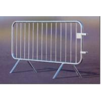 14 Bar  Crowd Control Barriers Hot Dipped Galvanized For Belgium Market High Quality ,Crowd Control Barricade Manufactures