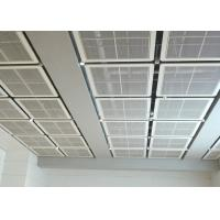 Quality Interior Galvanized Iron Wire Expanded Metal Mesh Ceiling , Powder Coating Suspended Metal Ceiling Tiles for sale