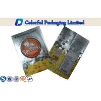 Environmental PET / VMPET / PE potato chips bag for dry fruit / nuts Manufactures