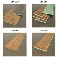 Indoor Healthy Laminate Flooring Plastic Flaw Pattern Long Lasting Feature Manufactures