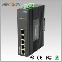Fanless Dinrail Industrial Level Ethernet Network Switch For Plug And Play Manufactures