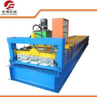 High Strength Steel Sheet Roll Forming Machine For House Roofing Making Manufactures