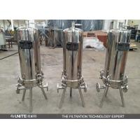 China Stainless steel cartridge filter housing with multi cartridge elements on sale