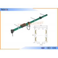China Green 4 Poles Plastic Conductor Rail System Max Voltage 600 CE on sale
