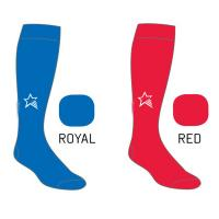 Nylon / Cotton Elastic Football  Custom Sports Socks for Adult / Youth Manufactures