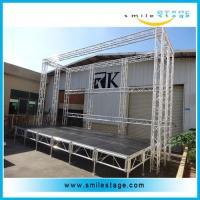 China Easy Install 4*8 FT Aluminum Stages Platform for Weddings Staging on sale
