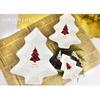 China Holiday X`mas Tree Perfect For Seeds Nuts And Dry Fruits Plates Bowl Dish Plate Tableware Breakfast Tray Kitchen Home Su on sale