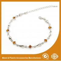 China Girls Stainless Steel Chain Bracelet Color Change Mood Jewelry on sale