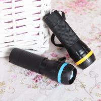 China Dry Battery Powered 1W Led Lamp Plastic Flexible Zoom Led Flashlight/Torch for Daily Light on sale