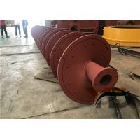 High ablution Sand Washing Machine Spiral Fabricated with heavy duty tubs Manufactures