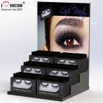 Create Beauty Acrylic Lash Display Fake Strip False Eye Lash Box Retail Display Desktop Manufactures