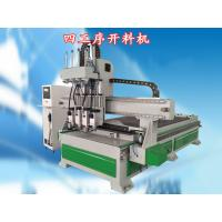 4th Axis Automated Wood Cutting Machine With USB Port To Transfer Program Manufactures