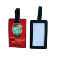 customized soft pvc baggage tag for promotion gifts Manufactures