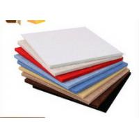White Red Blue Polyester Decorative Acoustic Wall Panels / Ceiling Board Manufactures