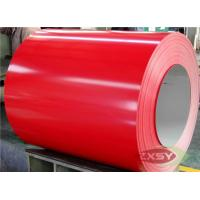 Red Brushed Hydrophilic PE PVDF PVC Coated Aluminium Sheet Manufactures