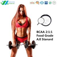 BCAA 2:1:1  Food Grade  Branch chain amino acids For Sport Nutrition AJI standard Free samples Manufactures