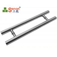 ASTM Stainless Steel Pull Handle Tempered Glass Door Handle 304 Material Manufactures