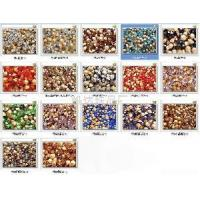 Crystal Colourful Pyramidical Beads Manufactures