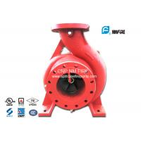 Single Impeller Centrifugal UL FM Approved Fire Pumps Ductile Cast Iron Materials Manufactures