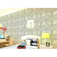 China Christmas Decoration 3D Living Room Wallpaper , 3D Effect Wall Panels for Theatre on sale