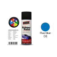 China Fluo Blue Color Removable Rubber Spray Paint , Peelable Car Paint Grade 2 Adhesion on sale