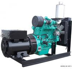 China 50KVA 40KW CUMMINS Diesel Generator Set , 1500 RPM Diesel Generator With Stamford Alternator on sale
