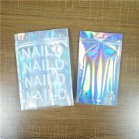 Biodegradable Iridescent Mylar Laser Pouch Plastic Bag Packaging Salt Coffee Body Scrub Manufactures