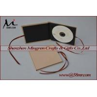 Quality Single Fabric Linen DVD CD album for sale