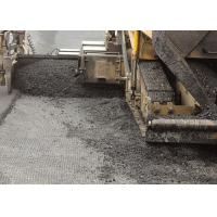 Quality 40KN/M Black Fiberglass Geogrid with Lower Elongation for Dike Slope for sale