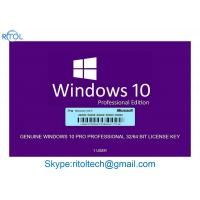 USB 3.0 Windows 10 Pro Retail Box , Global Win 10 Pro License Product OEM Key Manufactures