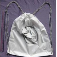 Double Shoulders Plastic Drawstring Backpack Bags For Travel / Swim / Run / Sports / Relaxation Manufactures