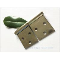 Detachable Brass Lift Off Hinges , Barrel Lift Off Shutter Hinges  Nickel Plated Manufactures
