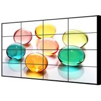 4 X 4 Led Backlight Lcd Video Wall Display For Restaurant , Lg Seamless Display Systems Manufactures