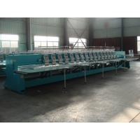 High Speed Computerized Embroidery Machine With 16 Heads 12 Needles Manufactures