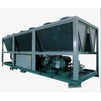 R22 Anti - Explosion Compact Air Cooled Screw Compressor Chiller LCD Touch Screen Manufactures