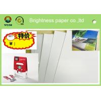 Printable A4 Glossy Sticker Paper , Glossy Magazine Paper Customized Size Manufactures