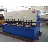 Fully Automatic Guillotine Shearing Machine / Sheet Metal Shear Manufactures