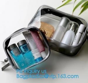 China PVC Cosmetic Bag Makeup Brushes Bag Travel Wash Bag, Wash Cosmetic Bags Makeup Organizer Case MINI Hand on sale