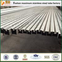 Stainless welded steel pipe slotted stainless steel tube 304 Manufactures