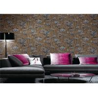 Italy Style Contemporary Textured Wallpaper 1.06 Meter Modern Home Wallpaper Manufactures