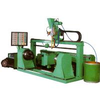 Customized 20T Roller Surface Hardfacing Machine  Head Revolving Tail Clamping Use Digital Control Manufactures