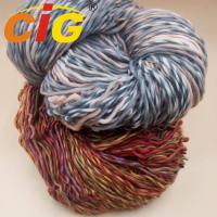 Colorful Acrylic / Cotton / Wool Yarn For Knitting Woman Scarf In Spring / Winter Manufactures