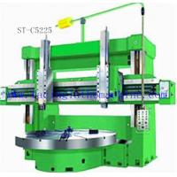 Large High Power Strong Rigidity Double Column Vertical Lathe , Cutting Tire Moulds Manufactures