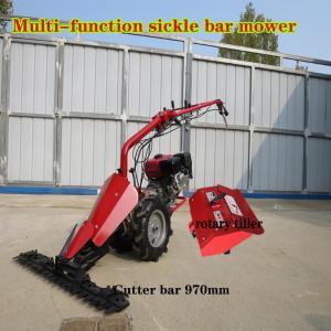 China good capacity grass mower/grass cutting lawn mower/grass scythe machine on sale