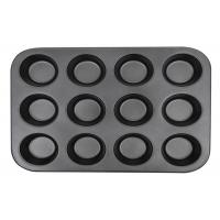 Carbon Steel Cookie Baking Tray Non Stick Baking Pan Cupcake Mold Muffin Pan Manufactures