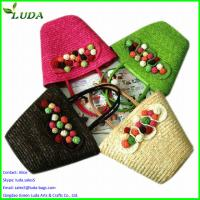 Promotional cheap wheat straw beach bags Manufactures